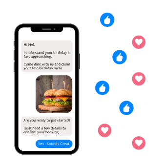 chat bot in messenger to built awareness