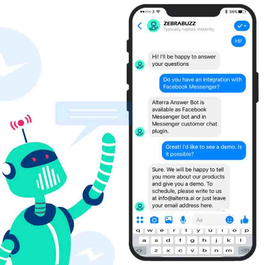 how do you use chatbot on messenger