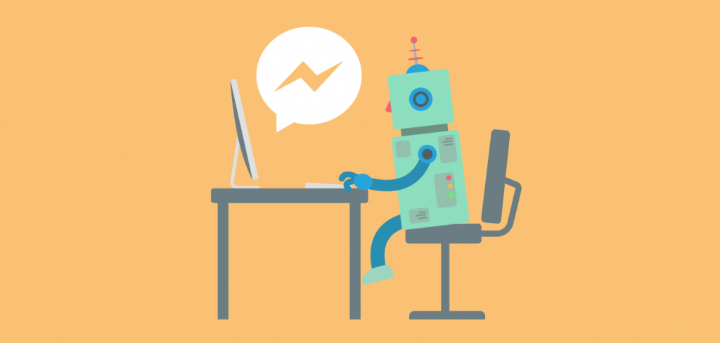 chatting with a chatbot