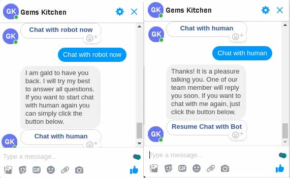 chat with bot