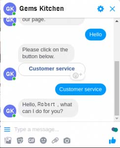 Text with Button in Comment Automation for Online Business
