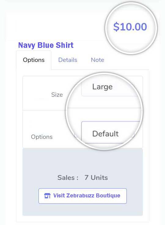 Zebrabuzz E-commerce Product Price Variation