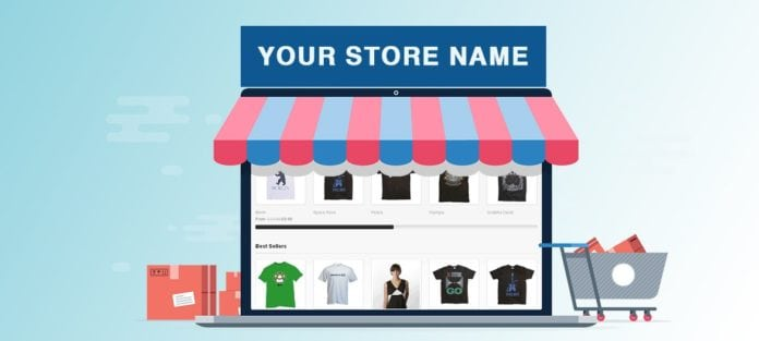 Virtual Store E-Commerce in Messenger