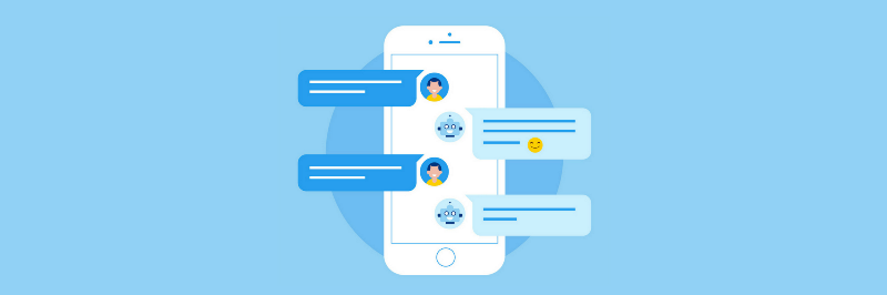 messaging feature in the chatbot