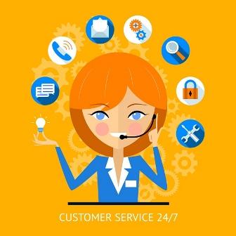 online social media customer service