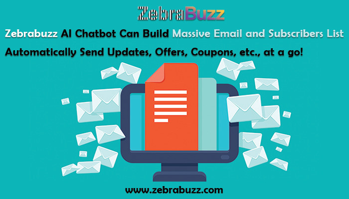 How to Collect Email Address or Leads inside Facebook Messenger with Zebrabuzz