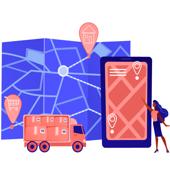 Delivery chatbot tracking